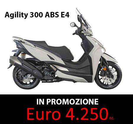 agility 300 abs